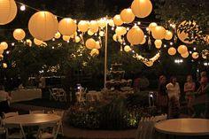 bistro lights | Wadley Farms: September 2010 Farm Wedding, Garden Wedding, Wedding Reception Decorations, Reception Ideas, Bistro Lights, Wedding Inspiration, Wedding Ideas, Butterfly Wedding, Bbq Party