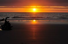 Sunrise at Hunting Island State Park Campground, South Carolina.   Go to www.YourTravelVideos.com or just click on photo for home videos and much more on sites like this.