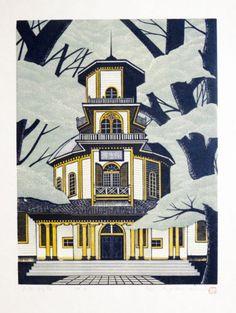 MORIMURA-RAY-Japanese-Woodblock-Print-YAMAGATA-SAISEIKAN