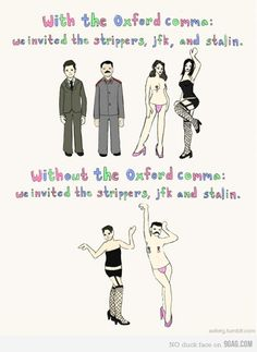 Importance of Commas