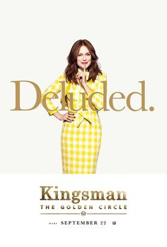Kingsman: The Golden Circle Character Posters and Comic-Con Panel Revealed - IGN Watch Kingsman, Kingsman Movie, Recent Movies, New Movies, Movies Online, San Diego Comic Con, Circle Movie, Kingsman The Golden Circle, Taron Egerton Kingsman