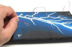 Make a wire loop game.  Good for electricity unit.  Teaches concept of open vs. complete circuit.