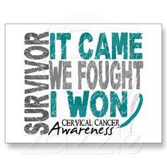 Cervical Cancer Survivor!