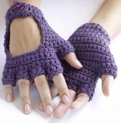 Tutorial Crochet Driving Gloves ✭Teresa Restegui http://www.pinterest.com/teretegui/ ✭
