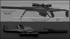 Mavric - sci fi shotgun by peterku on DeviantArt Anime Weapons, Sci Fi Weapons, Weapon Concept Art, Fantasy Weapons, Weapons Guns, Futuristic Sniper Rifle, Rpg Cyberpunk, Best Handguns, Best Concealed Carry