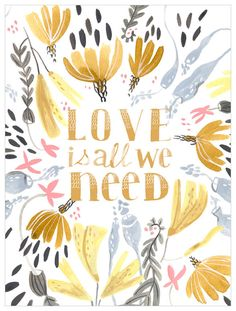 Oopsy Daisy Love is All We Need by Rae Ritchie Canvas Art Size: Elephant Canvas Art, Elephant Nursery Wall Decor, Art Wall Kids, Wall Art, Textured Canvas Art, Framed Art Sets, Daisy Love, Sunset Art, Vintage Lettering