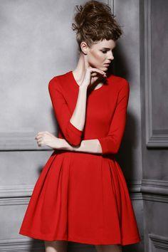 Simple Retro Sleeve Dress_Dresses(d)_DESIGNER_Voguec Shop