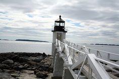 Marshall Point Lighthouse. Port Clyde, Maine.