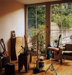 music room...