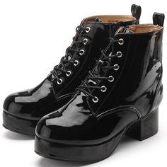 ブーツ(シンプルデザインレースアップブーツ)   ヨースケ(YOYOブランド)(YOSUKE YOYO Brand)   ファッション通販 マルイウェブチャネル[WW727-615-12-01]