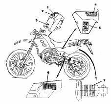 Catalogo de Pecas Moto Yamaha DT200R. Veja em detalhes no site http://www.mpsnet.net/G/38.html via @mpsnet Catalogo com todas informacoes sobre todos os detalhes e pecas da Moto Yamaha mod DT200R. Veja em detalhes neste site