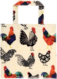 #Rooster small PVC bag