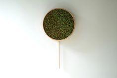bril shapes coniferous clock based on japanese sake ritual