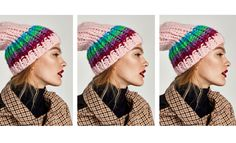 Discover the new ZARA collection online. The latest trends for Woman, Man, Kids and next season's ad campaigns. Zara United States, Knit Beanie, Hats For Women, Women's Accessories, Fashion Online, Knitwear, Fashion Photography, Winter Hats, Accessories