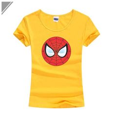 Get your hands on this awesome new Spidey T-shirt. Man Logo, Anime Outfits, Spiderman, Kawaii, Superhero, Logos, Mens Tops, T Shirt, Clothes