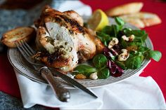 Цыплята с чесночным маслом - пошаговый рецепт приготовления с фото