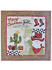 Merry Christmas Y'all Wall Hanging Pattern - Electronic Download