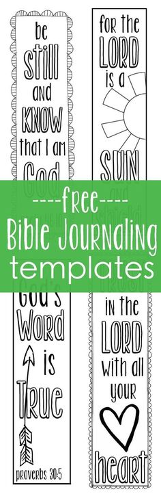 411 Best Doodle And Journal Thru The Bible Images Bible Verses