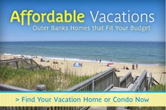 Outer Banks Vacation Rentals | Homes & Beach Cottages