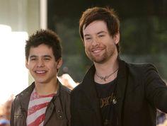 The American Idol Finale - 14 Seasons of Winners and Runner-Ups: Season 7 - David Cook and David Archuleta - 2008