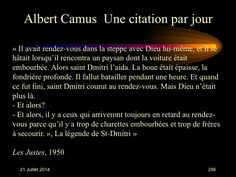 Albert Camus (1913-1960) n° 256