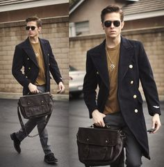 street-style 2015 #men #fashion #bags