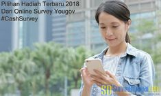 Pilihan Hadiah Terbaru 2018 Dari Online Survey YouGov #CashSurvey