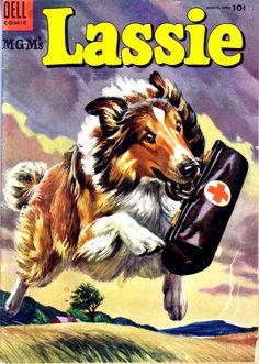 Lassie #21, 1955