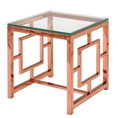 Home Gear Zuri Rose End Table