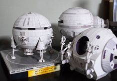 2001 Papercraft Models by UHU