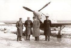 Designers of the IK-3 and Yugoslav officers in front of IK-3 n°2.