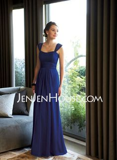 Bridesmaid Dresses - $119.99 - A-Line/Princess Sweetheart Floor-Length Chiffon  Charmeuse Bridesmaid Dresses With Ruffle (007004116) http://jenjenhouse.com/A-line-Princess-Sweetheart-Floor-length-Chiffon--Charmeuse-Bridesmaid-Dresses-With-Ruffle-007004116-g4116
