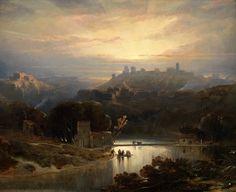 https://flic.kr/p/ipHt6F | David Roberts (Stockbridge, 1796 - Londres, 1864)  El castillo de Alcalá de Guadaíra (1833) | Madrid (Prado)