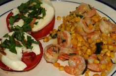 Sauteed Shrimp and Corn - sounds delicious