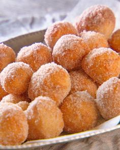 "Pizza dough delivers on dessert when you roll it into bite-size balls, deep-fry, and roll in sugar. See Lucinda Scala Quinn make this recipe from her book ""Lucinda's Rustic Italian Kitchen."""