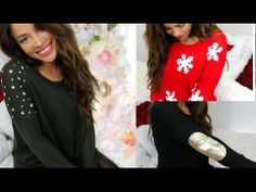 DIY: Decorate Your Winter Sweaters! ----- It's been a while since she made a vid that i actually liked. Good one!