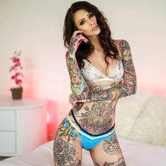 @worldtattoogallery #tattooed #tattooedgirl #inkedgirl #tattoomodel #tattoogirl #inked #tattoolife #tattoomag #worldtattoogallery #wtg #tetovanie #tetovani #tatouage #tatowierung #tatuaje #tatuaze #tats #inkedlife #tattoogallery
