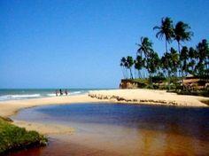 Praia de Cumuruxatiba -Prado -Bahia -Brasil