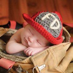 Fireman Hat Crochet Pattern $2.99