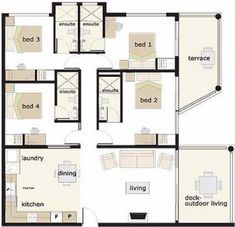 Best 6 Bedroom Bungalow House Plans In Nigeria Fresh 4 Bedroom Duplex 4 Bedroom Bungalow F In 2020 Bungalow House Floor Plans Bungalow Floor Plans Bungalow House Plans