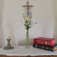 sideboard; a little oratory in the home