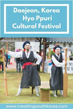 Daejeon South Korea Hyo Ppuri cultural festival