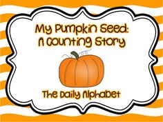Pumpkin Seed Counting Story freebie