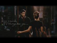 Ross and Rachel - It's always been you Friends Scenes, Friends Moments, Friends Tv Show, Star Quotes, Movie Quotes, Friends Ross And Rachel, High School Musical Quotes, Friends Wallpaper, Wallpaper Quotes