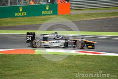 Hilmer Motorsport team GP2 during free practice session in occasion of the 2015 Italian Grand Prix weekend at Monza