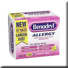 Benadryl and Pets - often used to treat bee and hornet stings and insect bites, as well as treating allergic skin disease