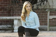 To look as good as she does in these clothes!!! Laura Vandervoort Rocks These Outfits As Elena Michaels On Bitten