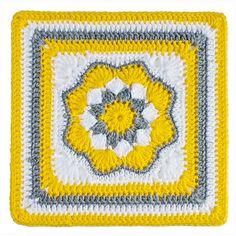 Harriett Square: free pattern ✭Teresa Restegui http://www.pinterest.com/teretegui/ ✭