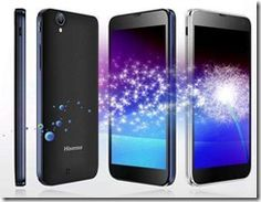 Hisense MIRA teléfono Android con pantalla muy clara -