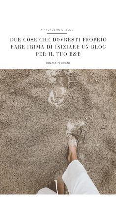 Avere un Blog all'interno del sito web della propria struttura ricettiva è cosa buona e giusta I perche' ho iniziato a raccontarteli in Fossi in te aprirei un Blog e nella newsletter a tema. Se te la sei persa puoi recuperarla qui Prima di aggiungere contenuti su questi argomenti oggi vorrei invitarti a fare un passo indietro e a leggere con attenzione i due suggerimenti che seguono. Sono frutto della mia esperienza e dei miei errori, che sono ancora esperienza #blogturistico… B & B